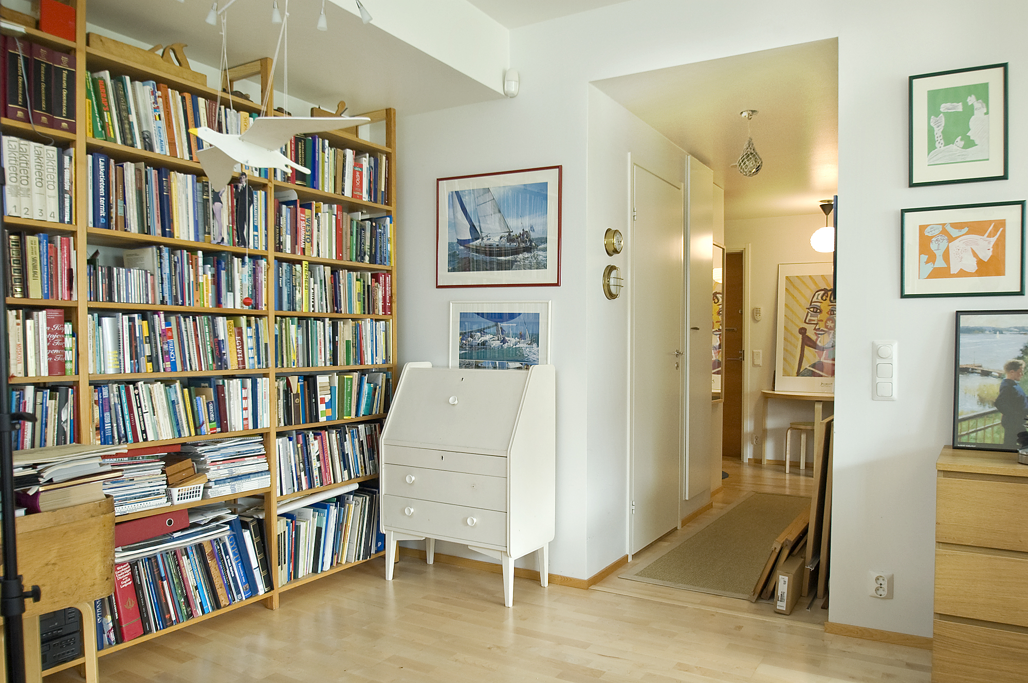 Scandinavia Home Library Design Simple Home Decoration Tips