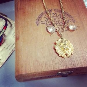 Lion's Mane Necklace - $42